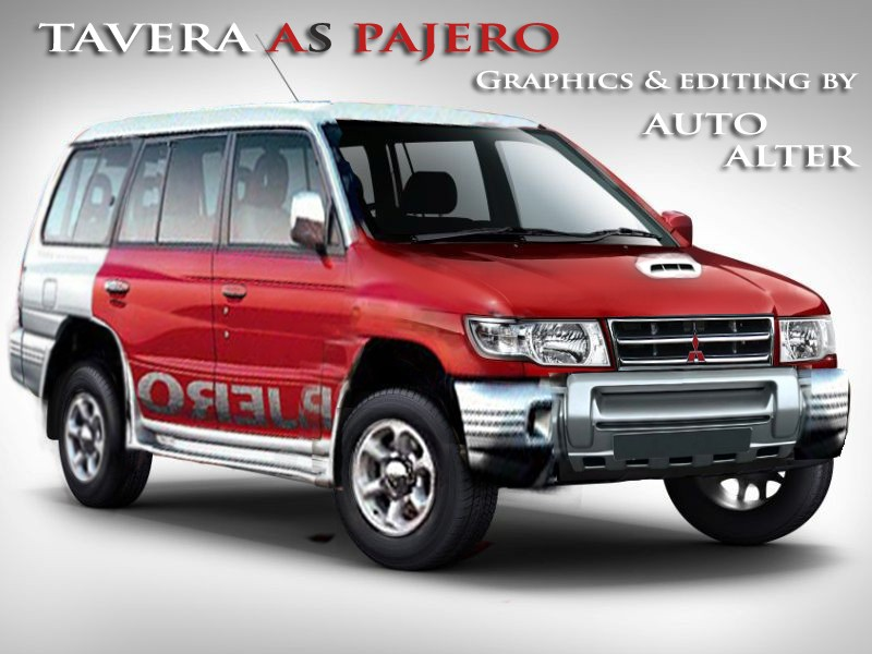 Tavera Altered To Pajero Auto Customz Modz