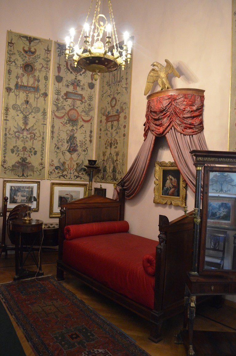 I viaggi di raffaella a roma nella casa di un collezionista il museo mario praz - Regalo camera da letto roma ...