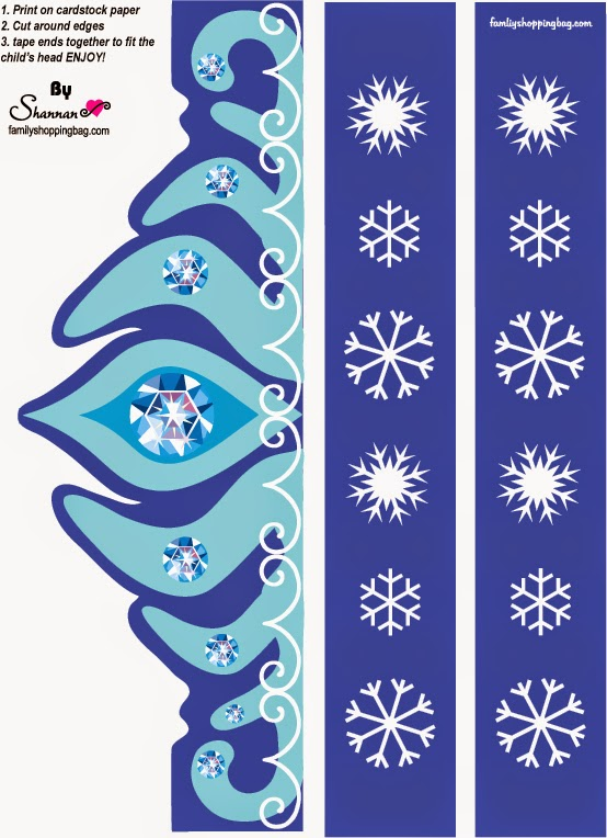 frozen party from fsh check out the whole frozen free printable kit
