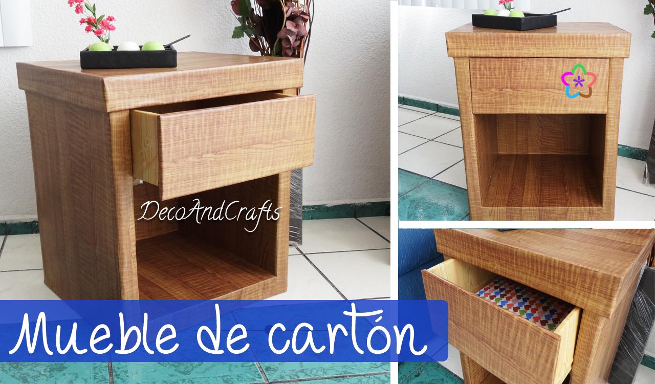Mueble de carton tama o real bur - Como hacer un mueble para tv ...