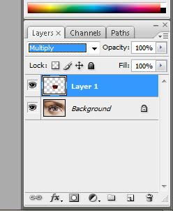 13x Membuat Mata Sharingan dengan photoshop