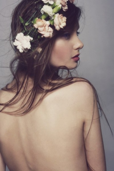 Floral Crowns in Hair