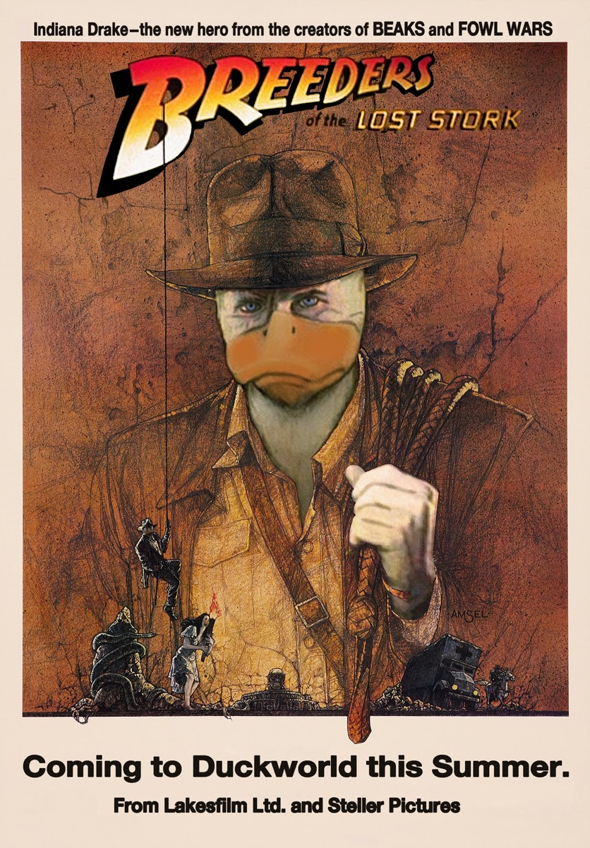 Howard The Duck Movie Poster Howard the Duck movie