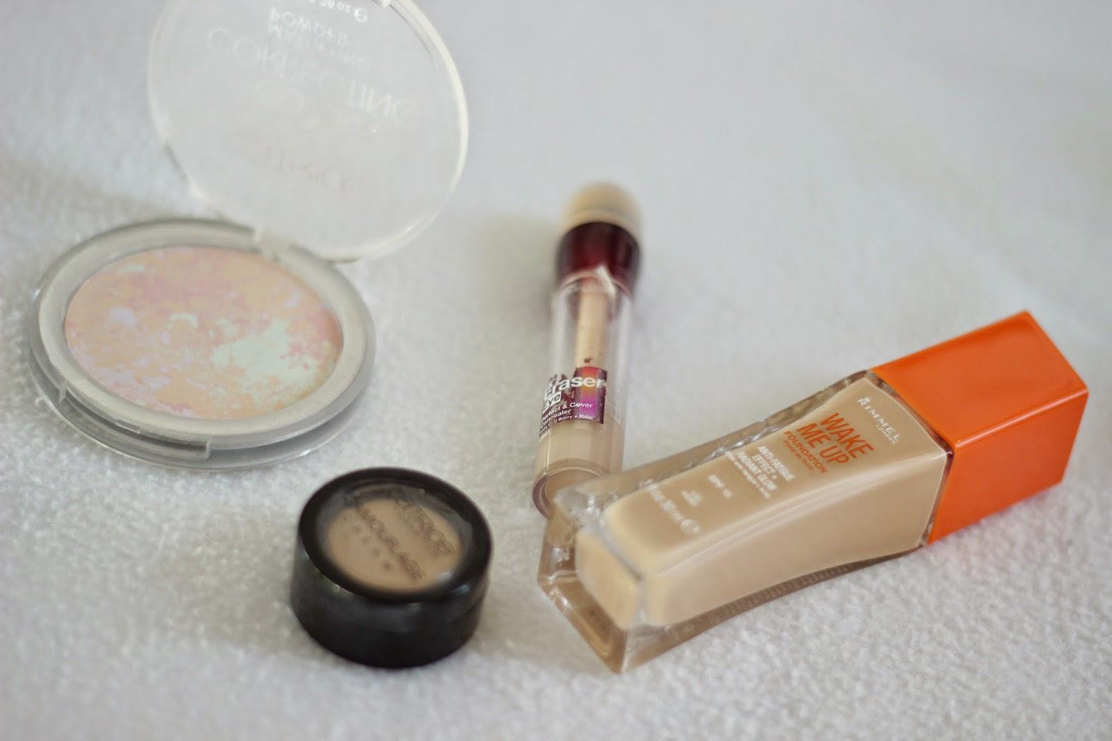 nude make-up look