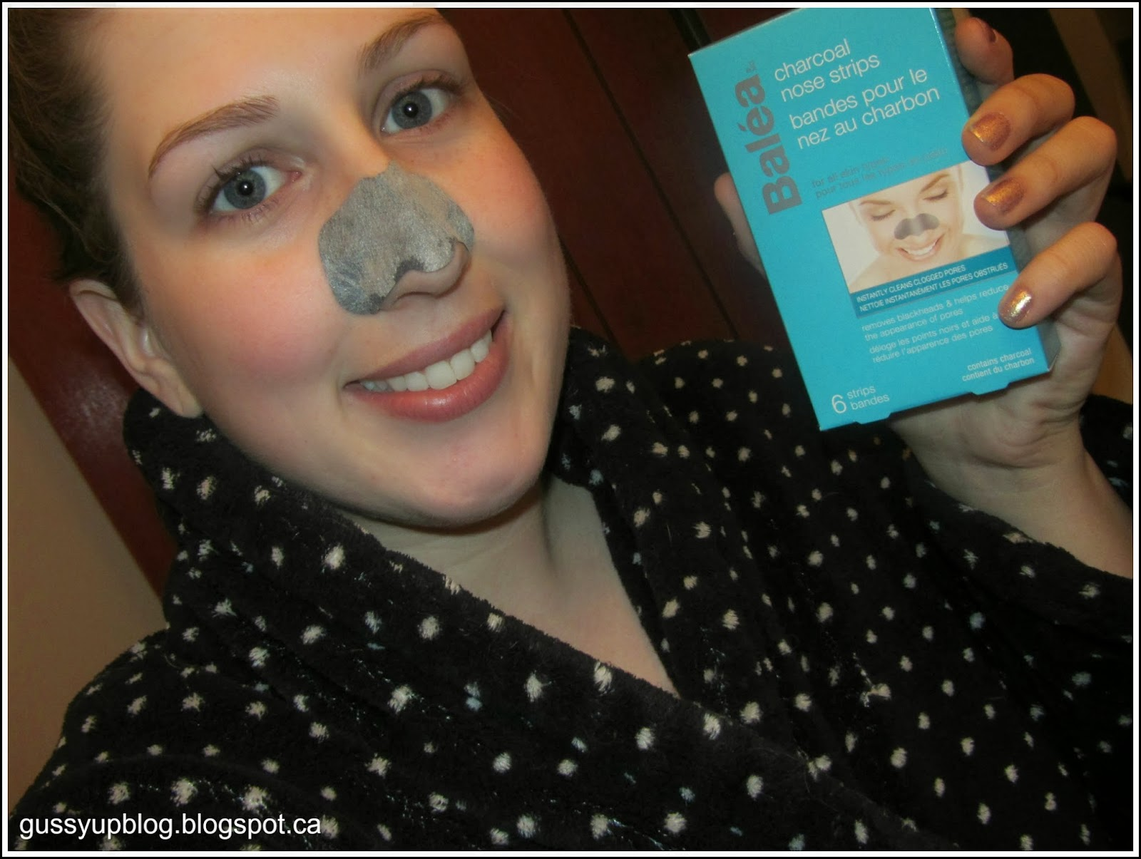 Review of Balea Charcoal Nose Strips