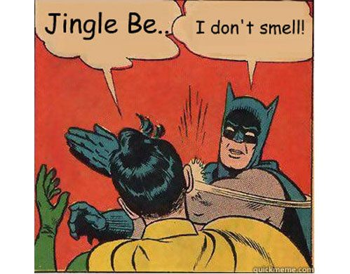 Jingle Bells, Batman Smells, Batman and Robin