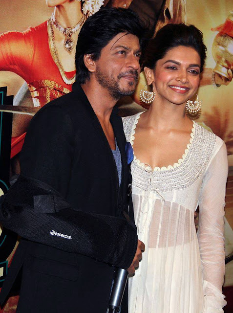 Shahrukh, Rohit & Deepika Padukone @ Chennai Express Trailer Launch