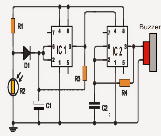 How to Make a Refrigerator Door Open Alarm Circuit