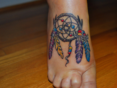 Dream Catcher Tattoo on Colorful Colors Cute Tattoo Dream Dream Catcher 252bdesigns Jpg