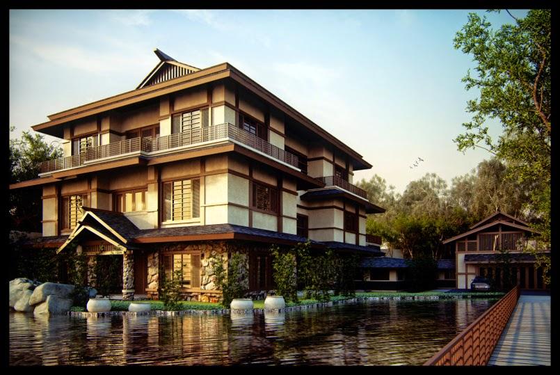 gambar rumah gaya jepang