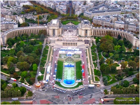 View of Palais de Chaillot