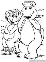 Barney Berjalan Jalan Ke Hutan
