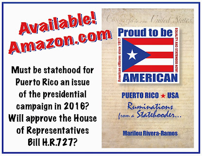 My new book... The truth about Puerto Rico's status that all Americans need to know...