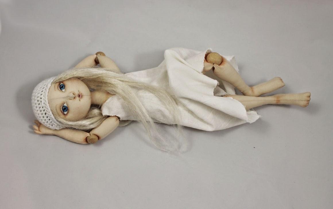 Куклы своими руками из ткани шарнирные