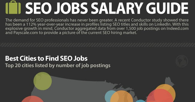 Best Cities To Find SEO Jobs And Salary Ranges of SEO ...