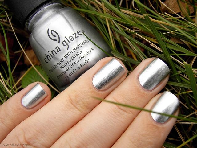 Souvent mode, fashion et tendance: Le vernis à ongle métallique argentée ZV86