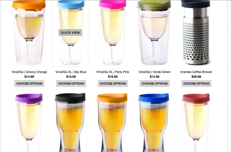 Acrylic Drinking Glasses Wholesale