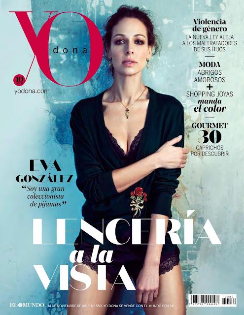 Actress, Fashion Model, TV Host @ Eva Gonzalez - Yo Dona Spain, November 2015