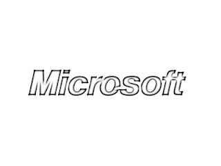 Microsoft Logo Sketch