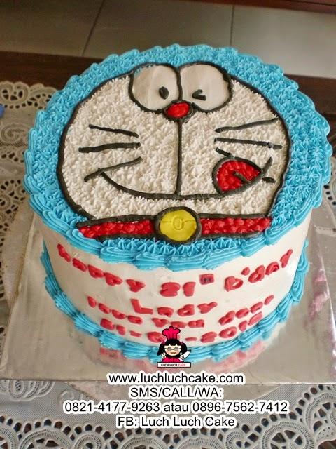 Kue Tart Doraemon Kepala Daerah Surabaya - Sidoarjo