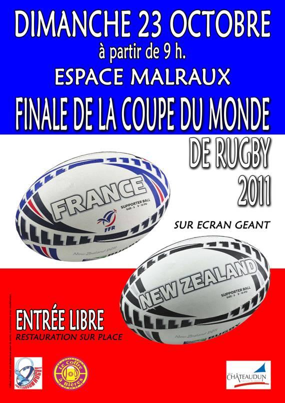 Ecole de rugby jeunes du dammarie rugby club finale de - Arbitre finale coupe du monde rugby 2011 ...