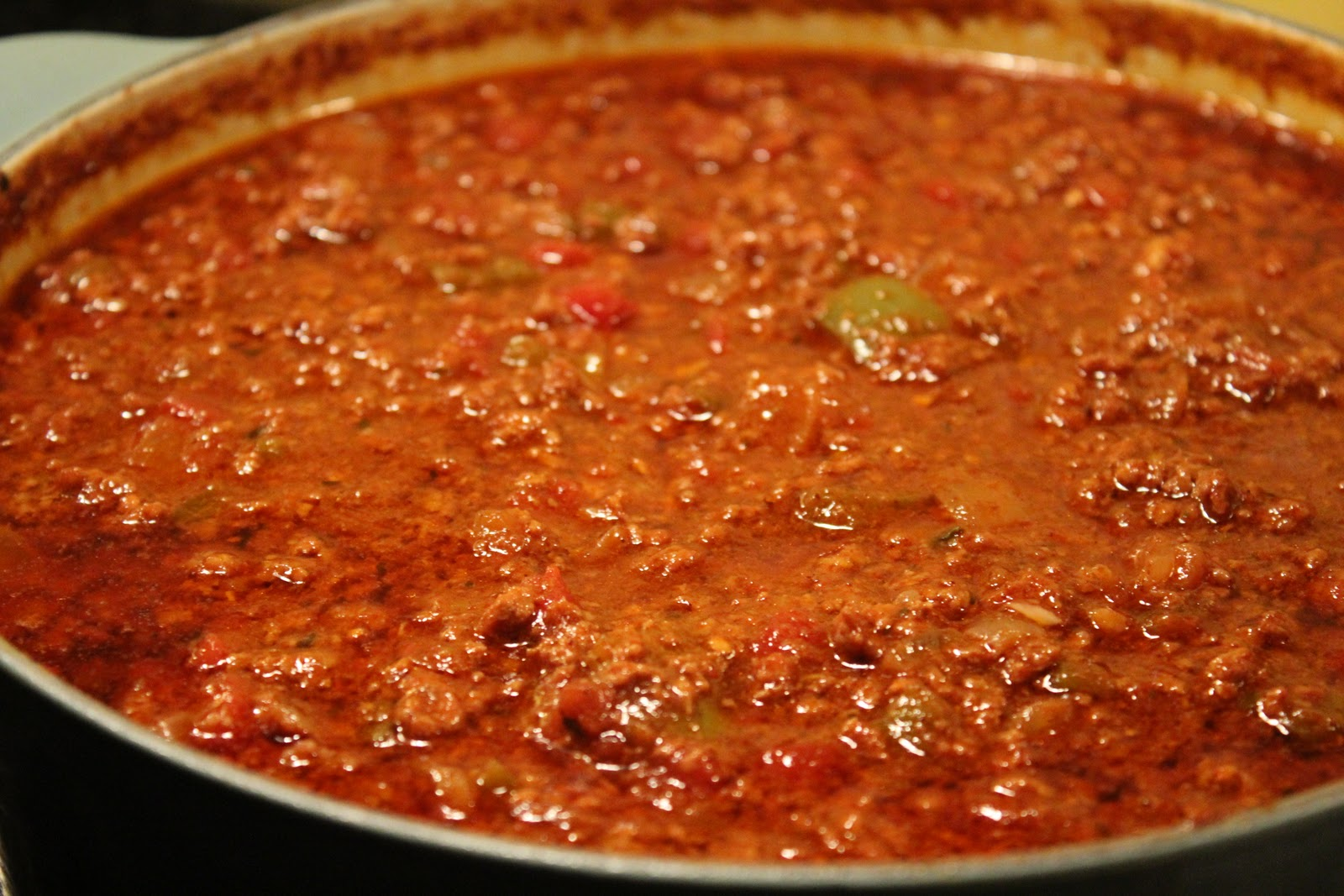 Delicious Dishings: Easy No-Bean Chili