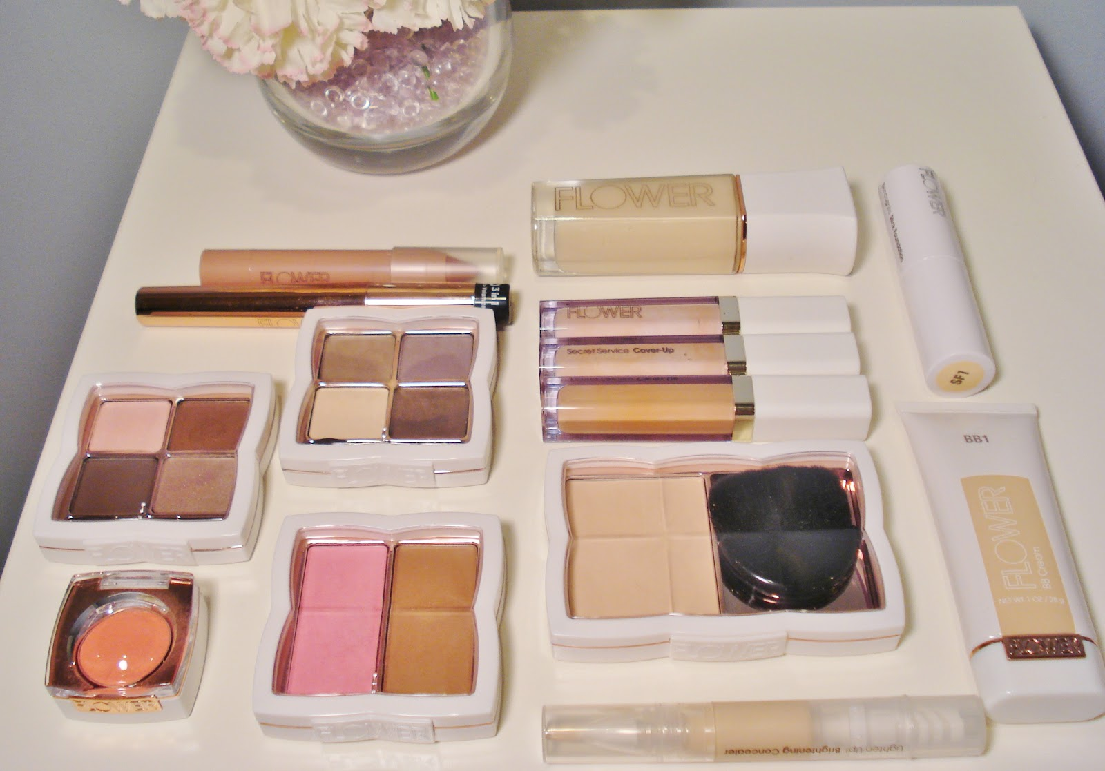 Flower Beauty From Drew Barrymore First Impressions Makeupwednesday