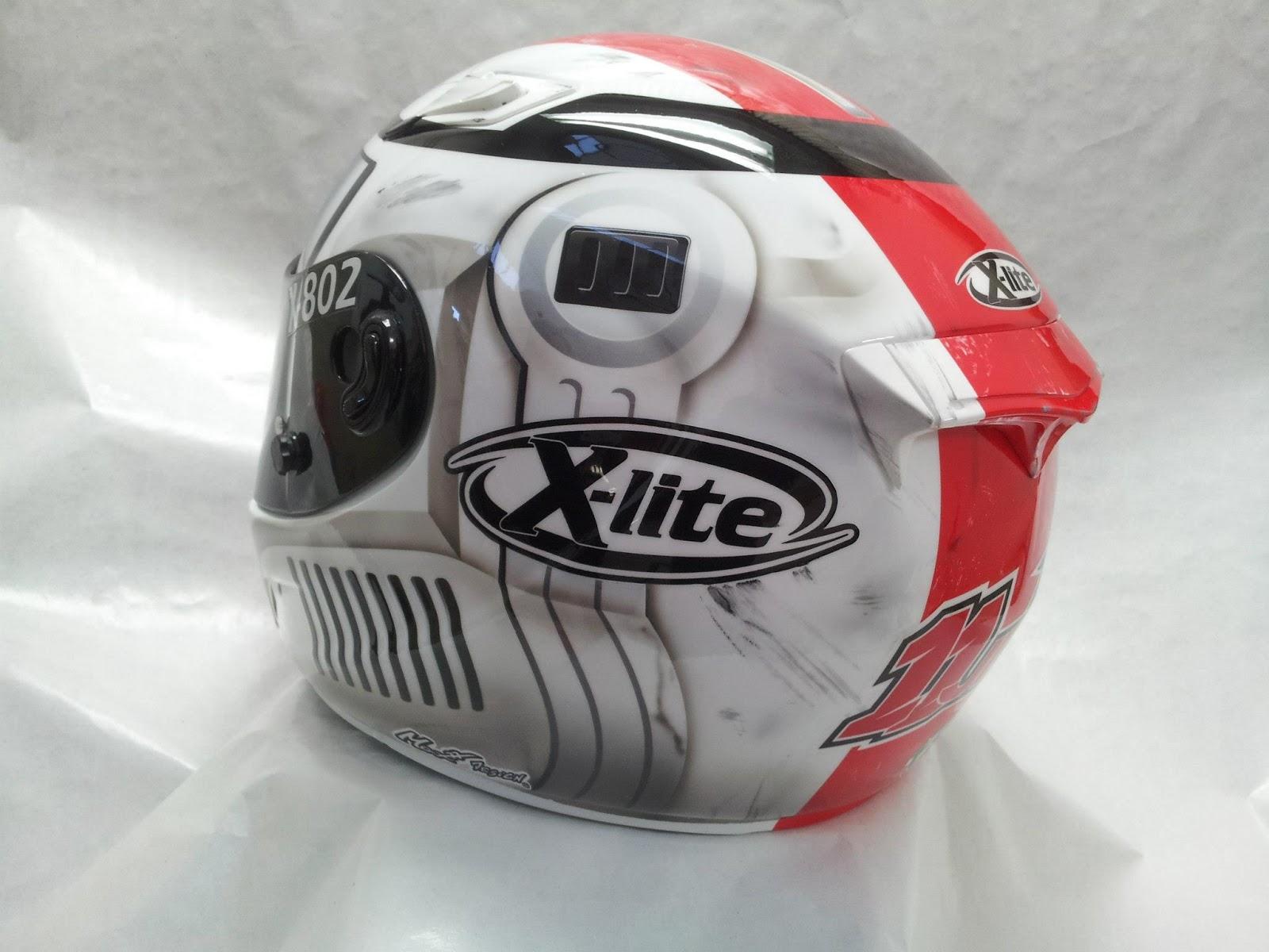 racing helmets garage x lite x 802r j guarnoni 2013 by. Black Bedroom Furniture Sets. Home Design Ideas