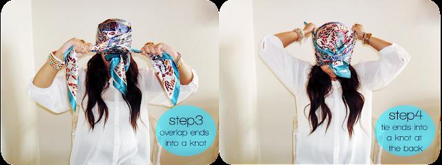 turban, scarf, tutorial, how to tie