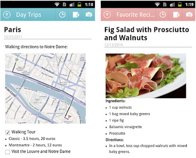 Microsoft OneNote Mobile For Android
