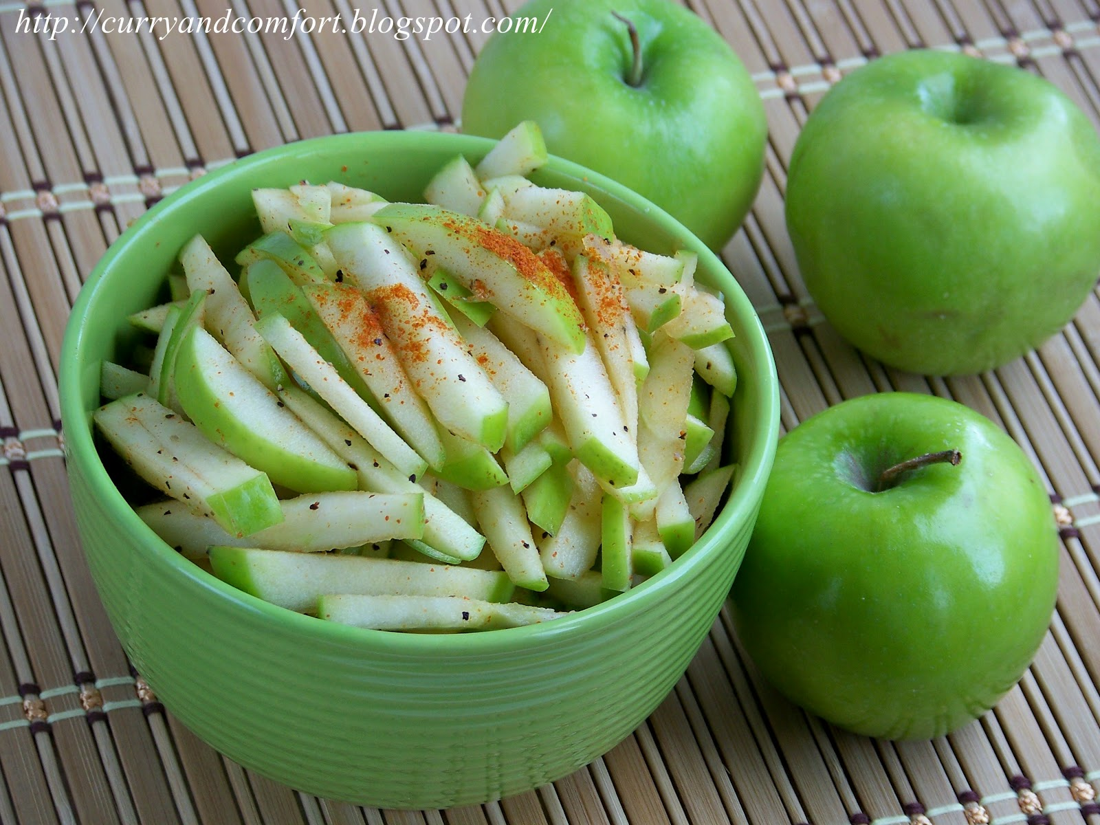 Curry and Comfort: Granny Smith Apple Slaw Salad (Throwback Thursday)