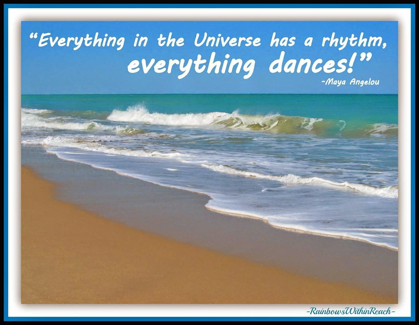 Maya Angelou quote on Dance (from Slideshare on Creativity by Debbie Clement)