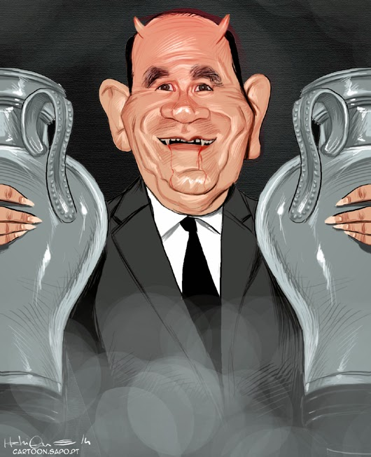 Béla Guttmann, Maldição, Cartoon