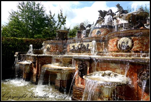 Buffet d'eau Mansart Versailles fountain