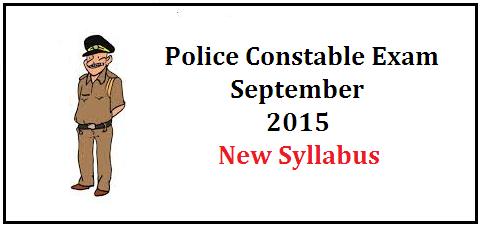 Kerala Police Constable Exam Syllabus