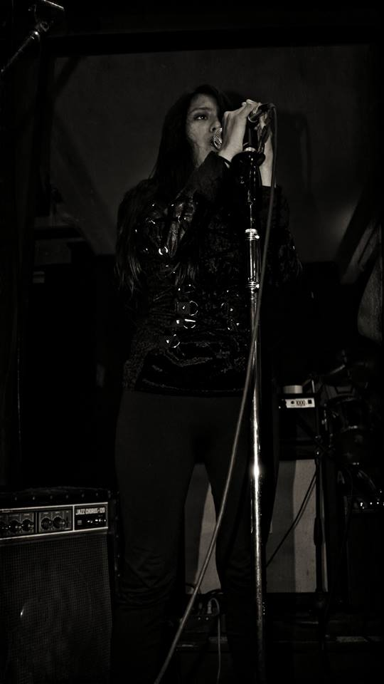 Isis Pineda Aphylon, Isis Pineda, Aphylon, Female Fronted Power Metal from Guatemala