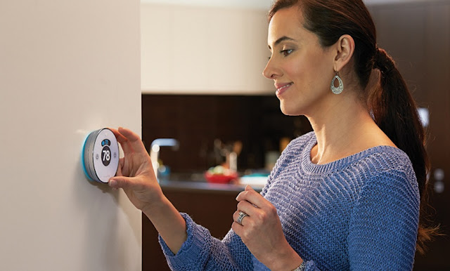 Honeywell Wi-Fi-enabled 'Lyric Round' Thermostat System