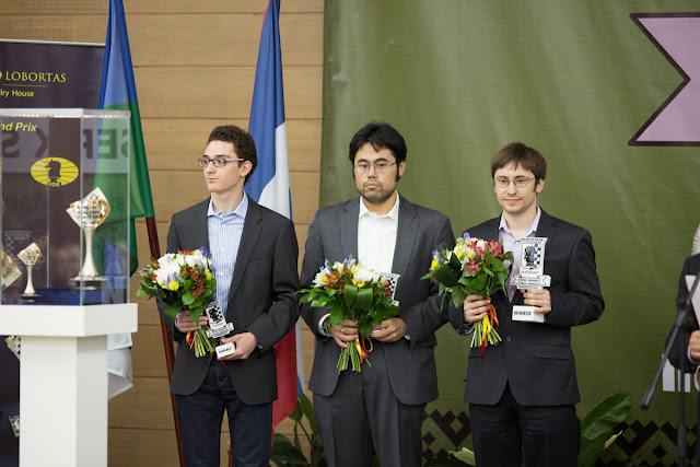 Grand Prix Khanty-Mansiysk. Caruana, Nakamura y Jakovenko vencedores