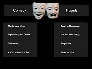 tragedy vs comedy