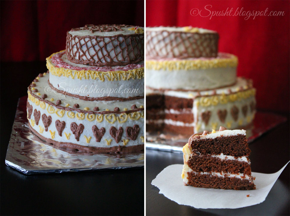 Three Tier Vanilla Cake Recipe