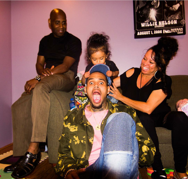 Chris Brown Shares New...