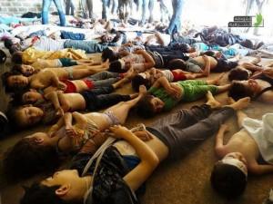 Foto-Foto Mangsa Korban Senjata Kimia Di Syria