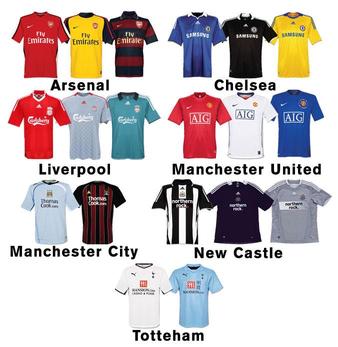 Camisas Times Da Inglaterra    85  86185175