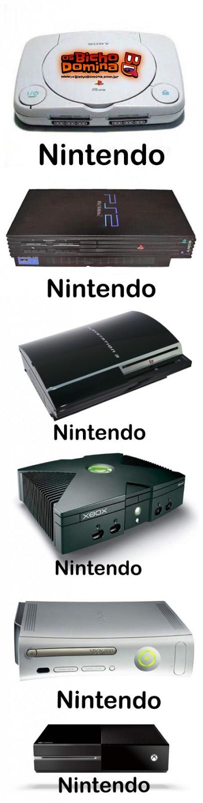 Nomes dos Video Games para Mães!!!
