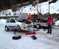 Pregatiri Covasna Winter Rally