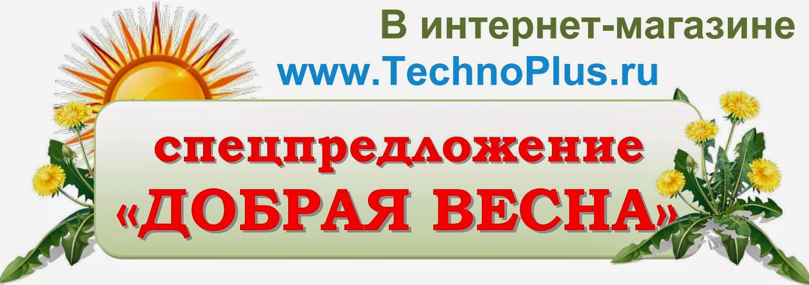 Спецпредложения в интернет-магазине TechnoPlus.ru