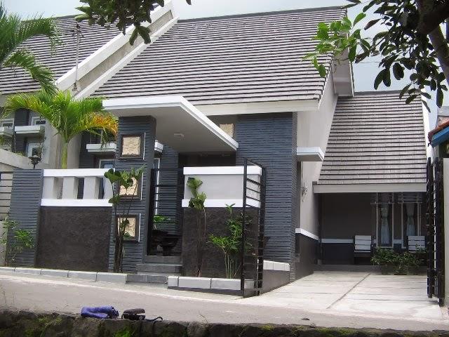 warna cat luar rumah minimalis desain rumah minimalis