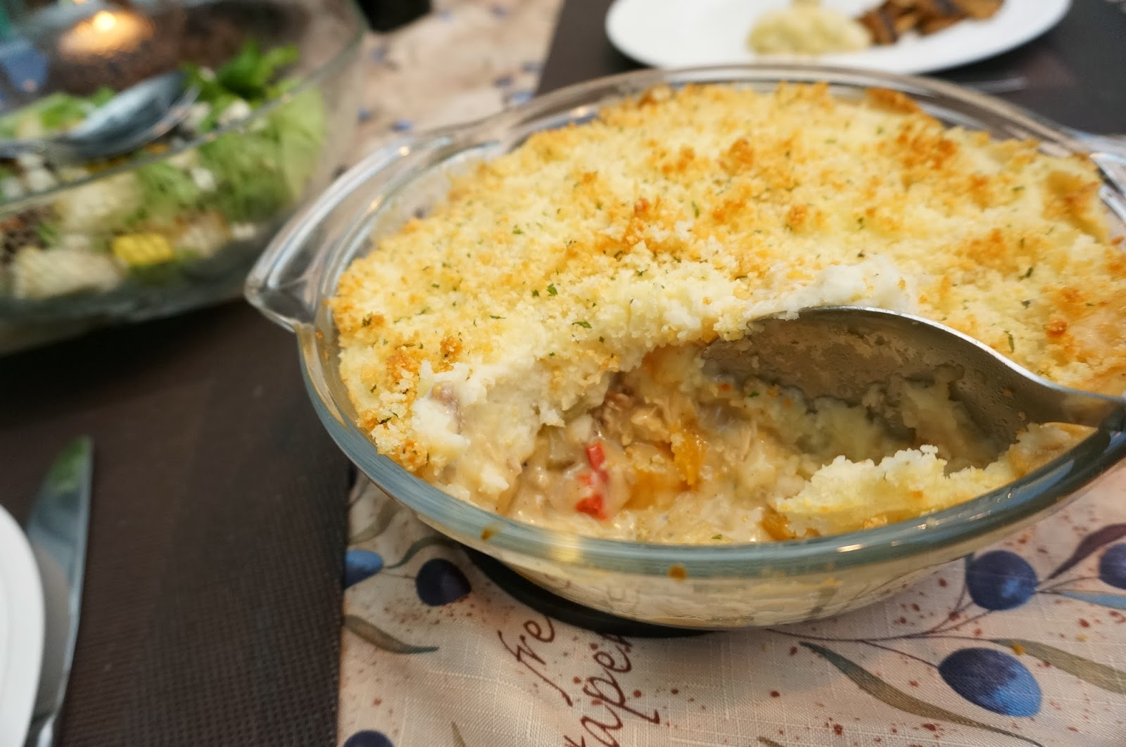 Turkey Shepherd's Pot Pie Recipe — Dishmaps