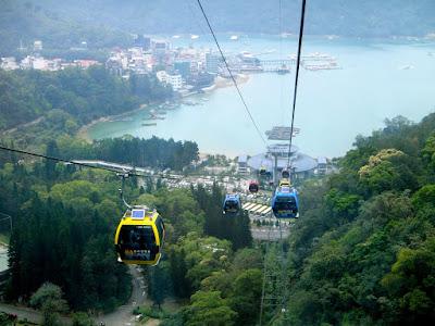 Sun Moon Lake Cable Car Station Taiwan
