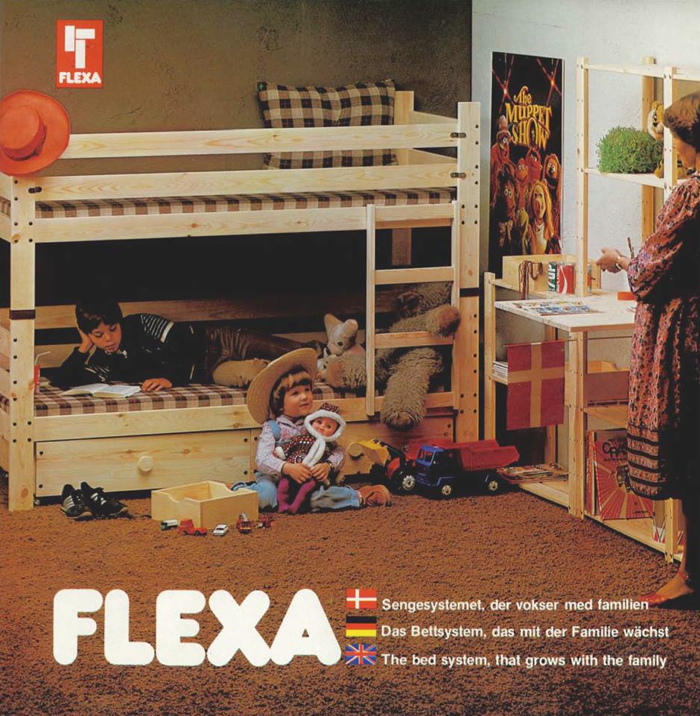 flexa children bed - Danish furniture for kids